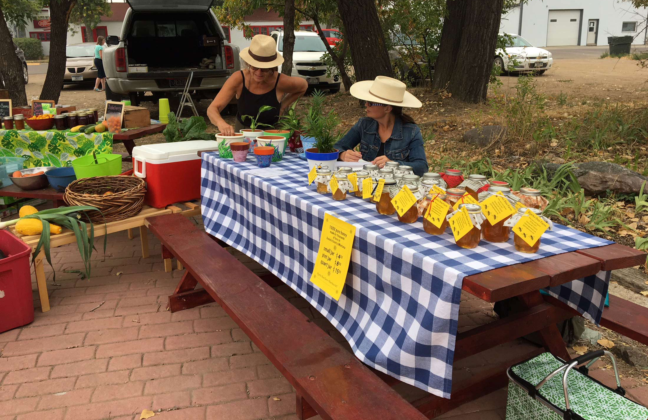 Farmers Markets in Montana's Missouri River Country