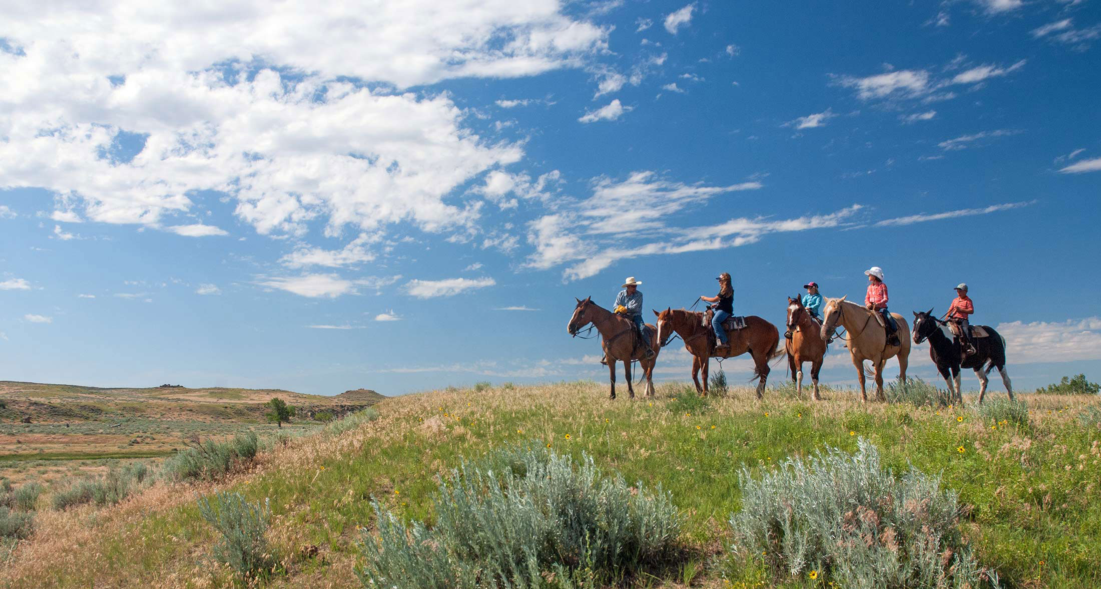 Horseback Riding in Montana's Missouri River Country