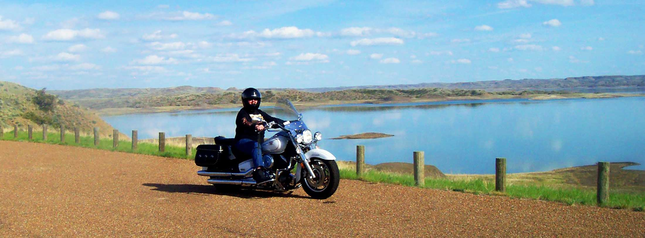 Motorcycles in Montana's Missouri River Country