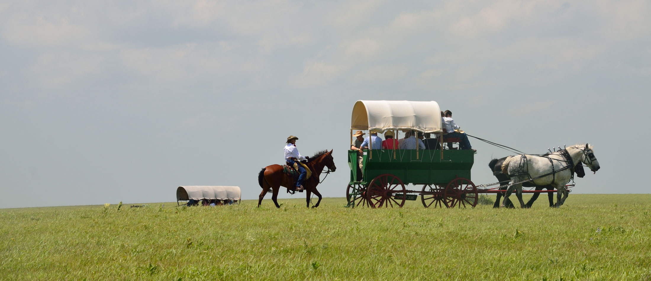 Wagon Train Rides in Montana's Missouri River Country